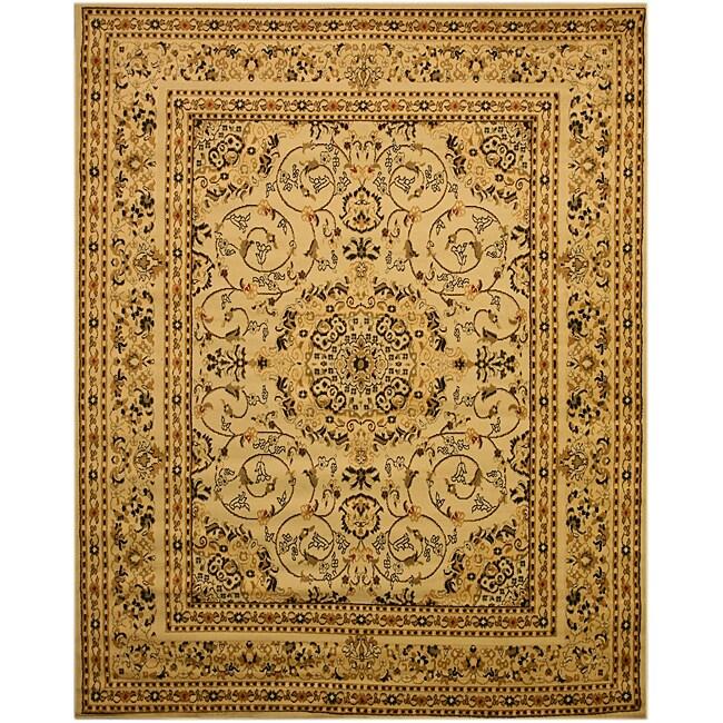 EORC Beige Esfahan Rug (7'10 x 9'10)