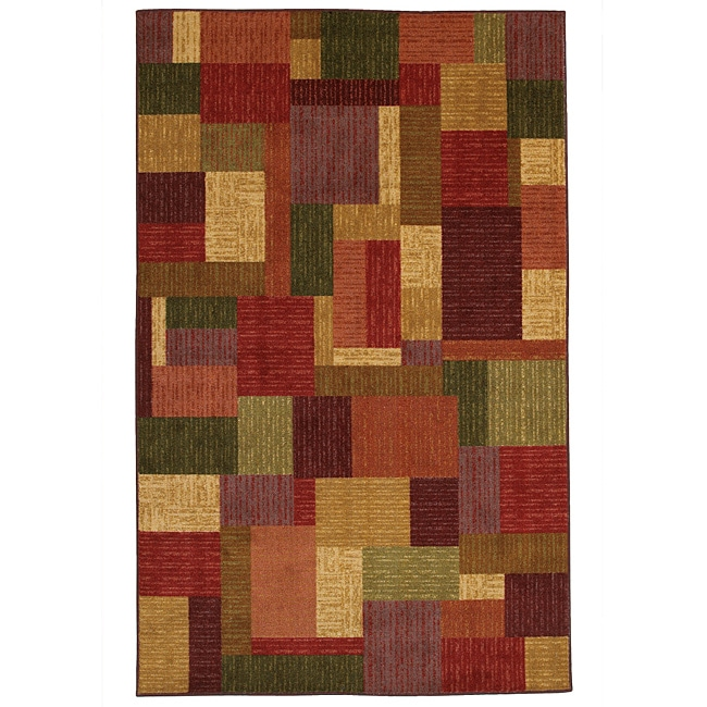 Celeste 1 Multi Blocks Rug (5' x 8')