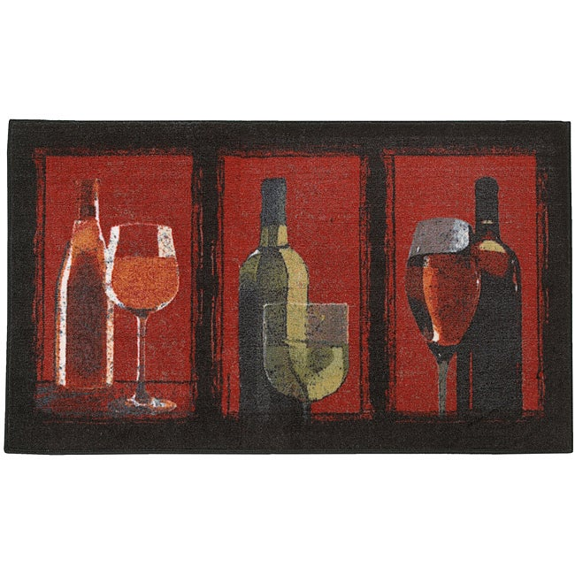 Mohawk Home A Glass A Day Crimson Rug (2'6 x 4'2)