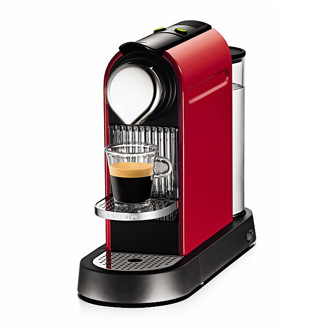 Nespresso Red Stand Alone Citiz Coffee Maker (Refurbished)