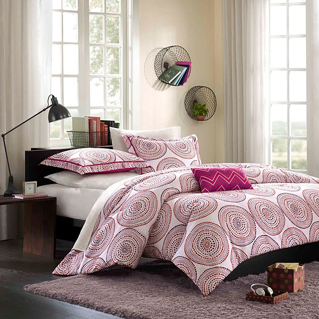 Mi Zone Nelly Pink 3-piece Comforter Set