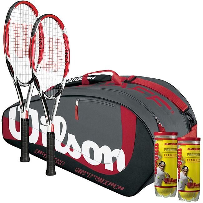 Wilson Club Player Tennis Racquet Bundle