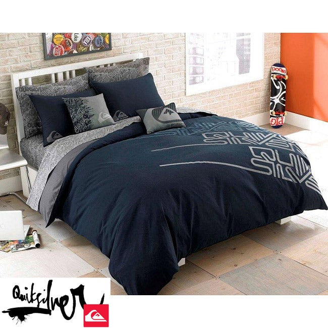 Quiksilver Labyrinth Queen-size 7-piece Bed in a Bag with ... Quiksilver Bedding Queen