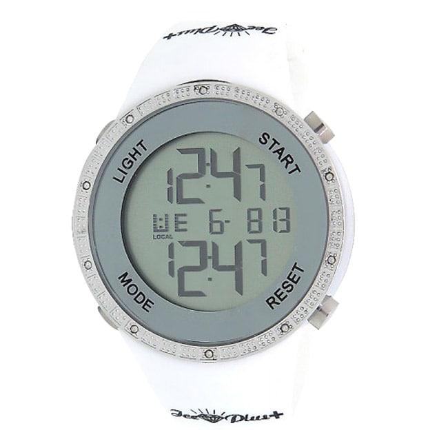 Joe Rodeo Men's Digital Sports Diamond Watch