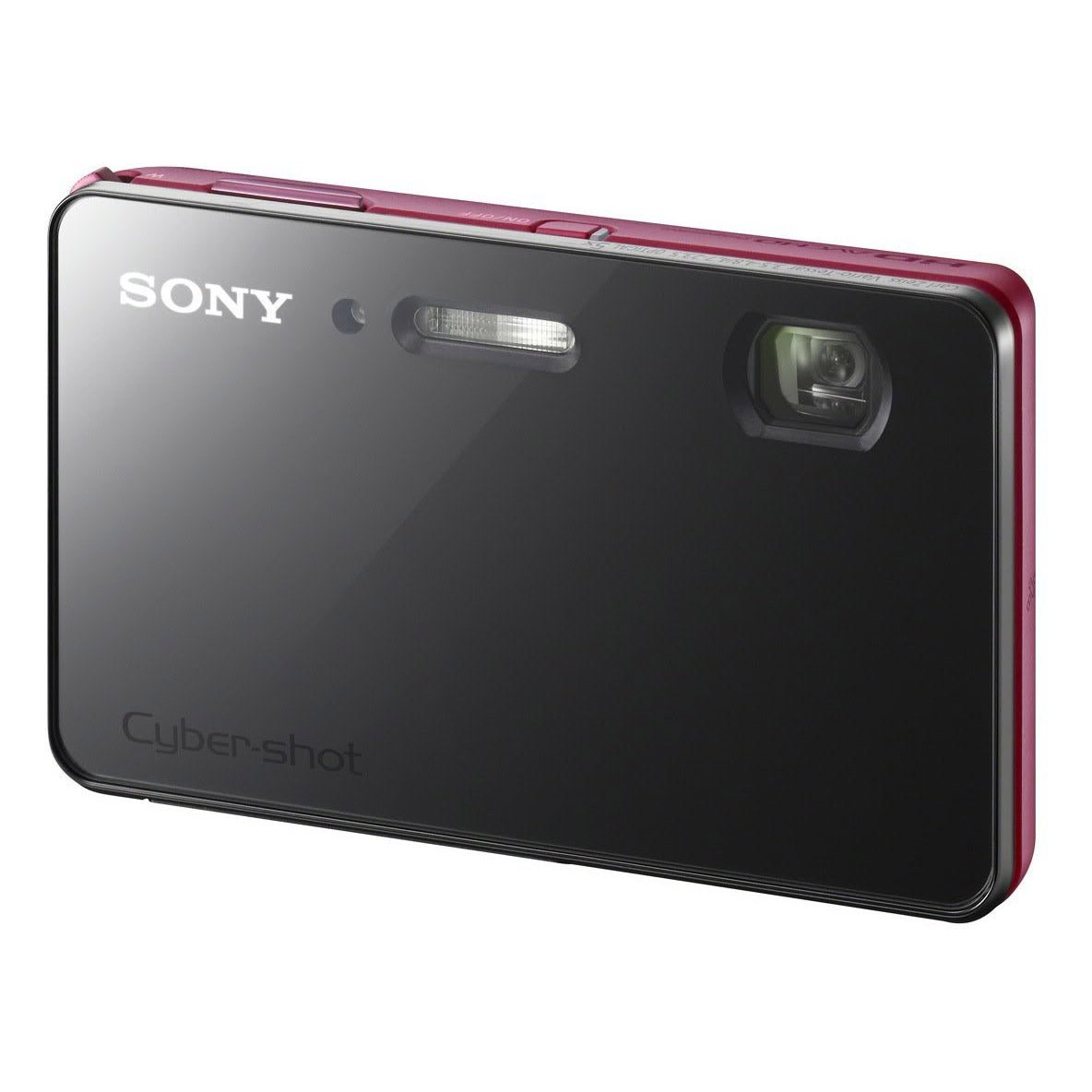 Sony Cyber-shot DSC-TX200V 18.2MP 3D Panorama Red Digital Camera