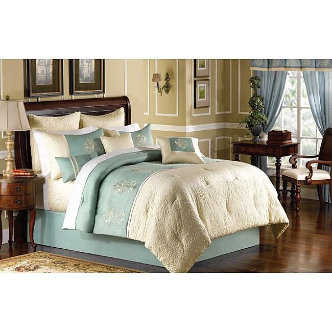 Regent Street 8-piece King-size Comforter Set