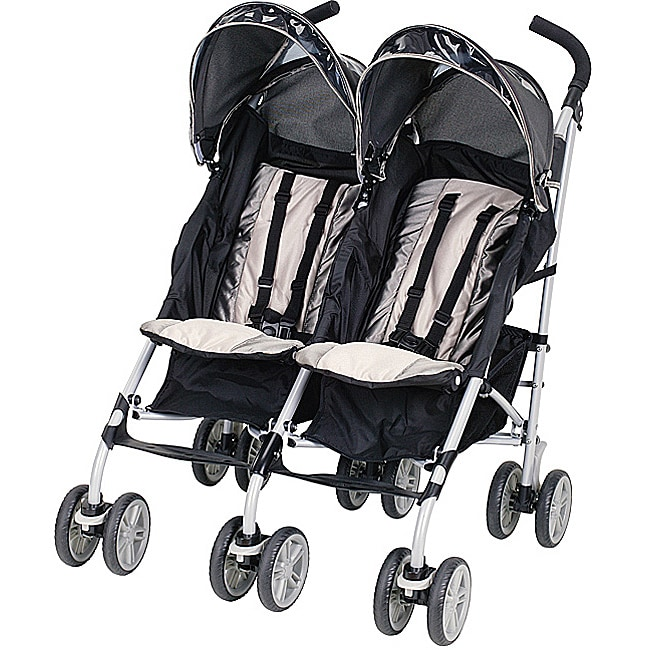 Graco Twin IPO Stroller in Platinum