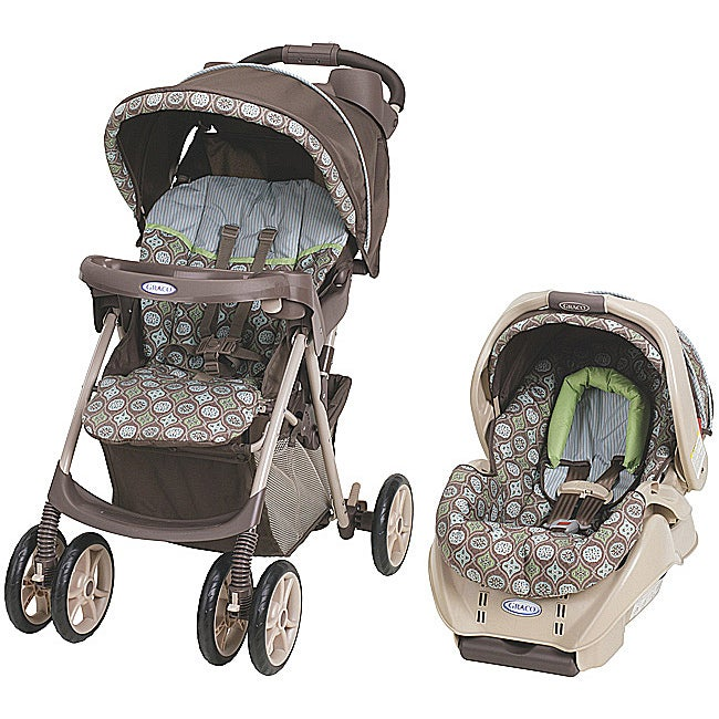 Graco Spree Travel System in Barcelona Bluegrass with $25 Rebate
