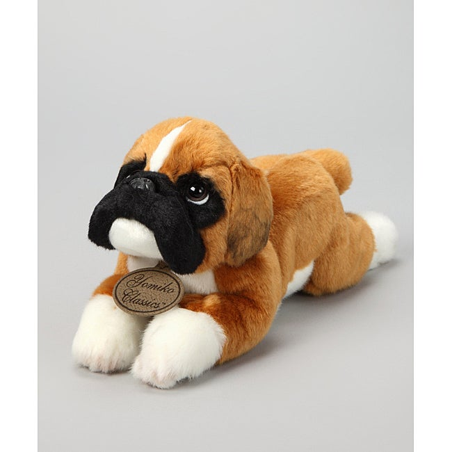 Russ Berrie Yomiko Boxer 12-inch Collectible Plush Dog