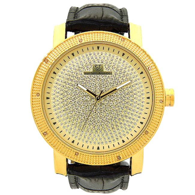 Joe Rodeo Men's Super Techno Diamond Watch