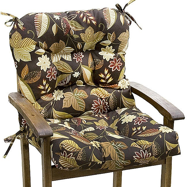 Overstock.com Woodland Floral Seat and Back Combo Outdoor Cushion at Sears.com