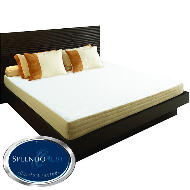 AT HOME by O Splendorest TheraGel 8-inch Full-size Gel Memory Foam Mattress-In-A-Box at Sears.com