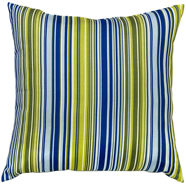 Poolside Stripe Outdoor Accent Pillows (Set of Two)