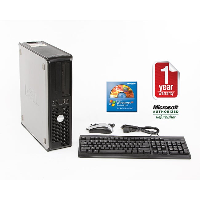 Dell OptiPlex GX520 2.8GHz 80GB DT Computer (Refurbished)