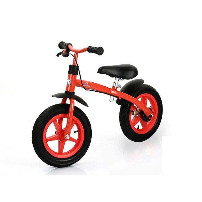 Assembled Red 24-inch Traxx E-Z Rider 12 Learning Balance Bike