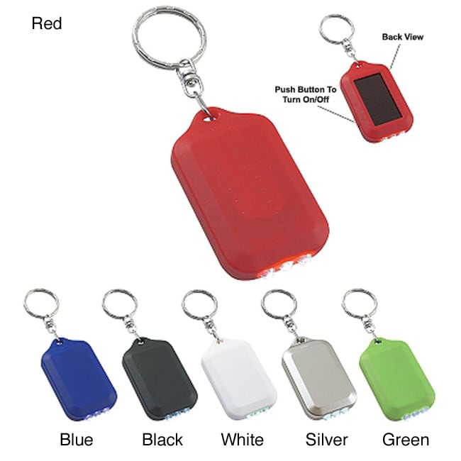 Solar Flashlight Key Chain (Case of 250)