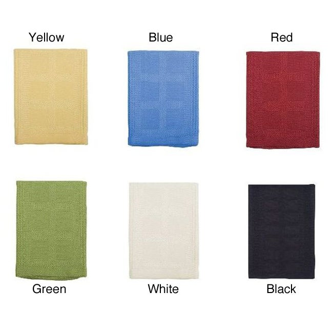 Gourmet Classics Rayon from Bamboo and Cotton Dish Cloths (Set of 4)