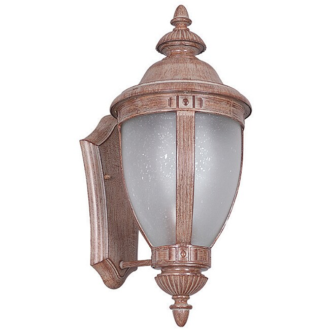 One-light Cast Aluminum Wall Lantern
