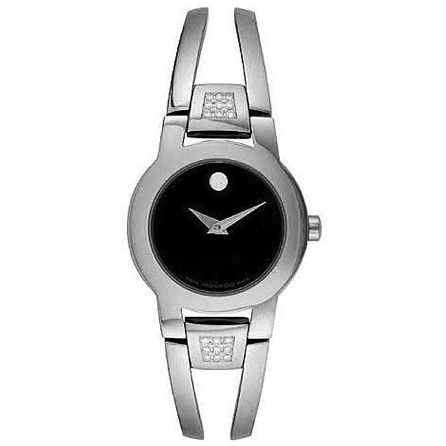 Movado Women's Amarosa Diamond Steel Watch