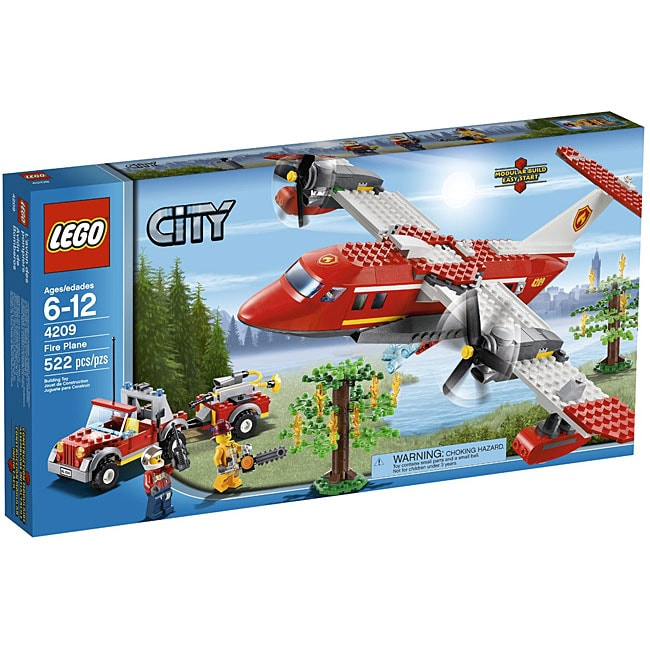 LEGO City Fire Plane Set 4209