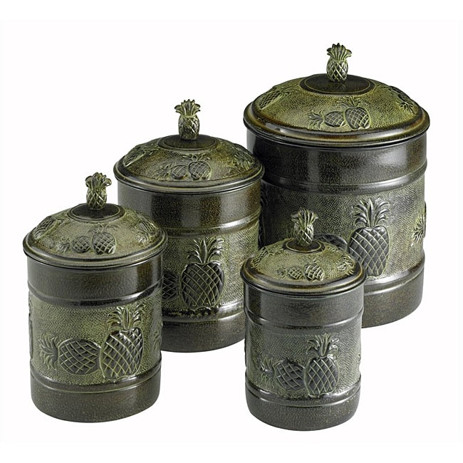 Overstock.com Old Dutch Pia Canisters with Fresh Seal Covers (Set of 4) at Sears.com