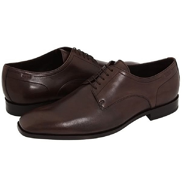 Hugo Boss Men's 'Recco' Brown Leather Oxfords