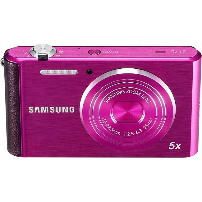 Samsung ST76 16MP Purple Digital Camera
