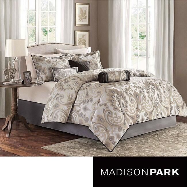 Madison Park Madrid Natural 7-piece Comforter Set