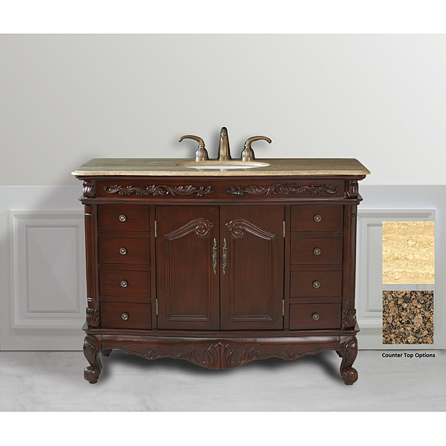 Design Element Heritage 48-inch Single Sink Vanity Set