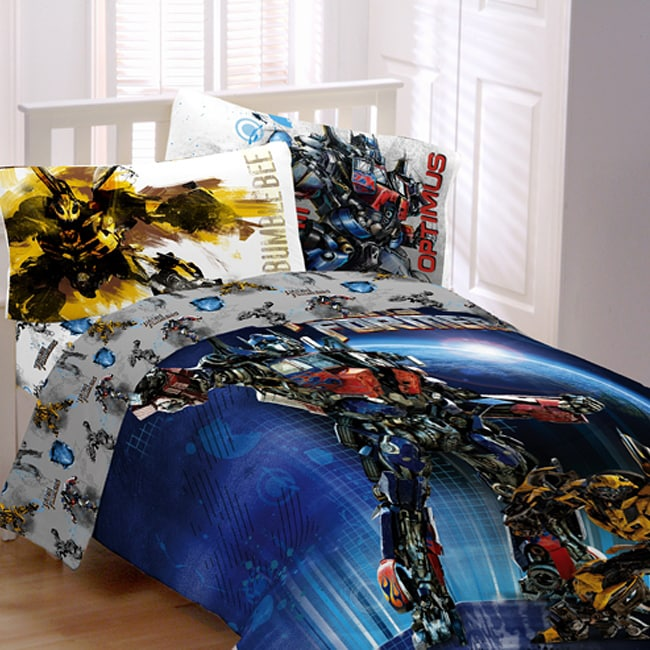 Transformers 'Armada' Twin-size 4-piece Bed in a Bag with Sheet Set
