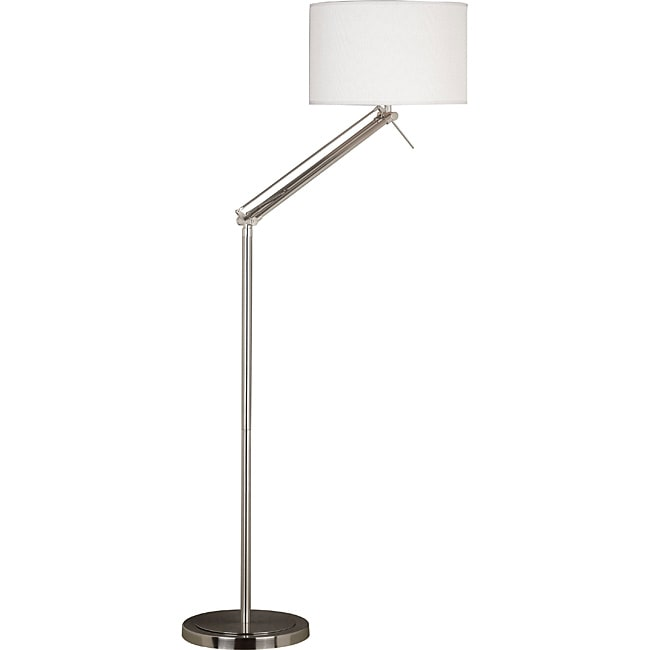 Rawson 63-inch Adjustable Brushed Steel Floor Lamp