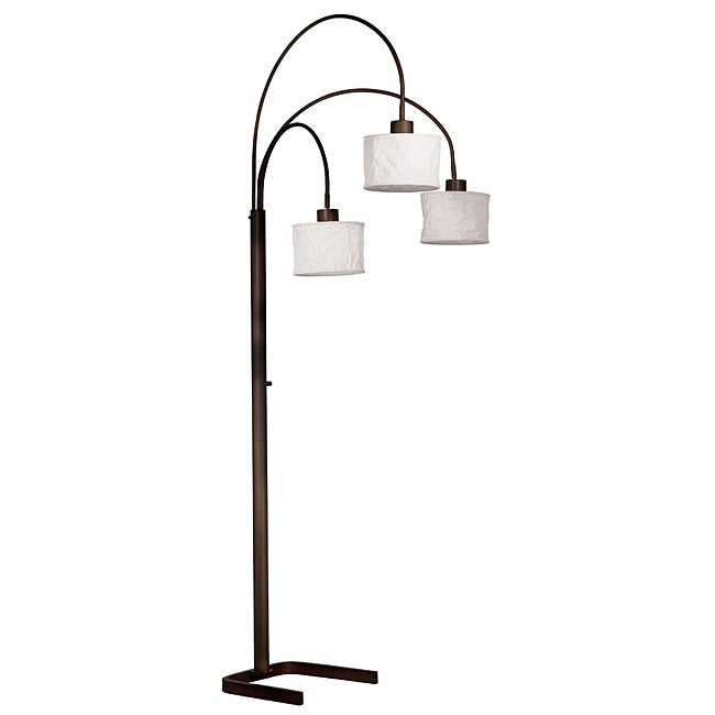 Gorham 82-inch Oil Rubbed Bronze 3-light Arc Lamp