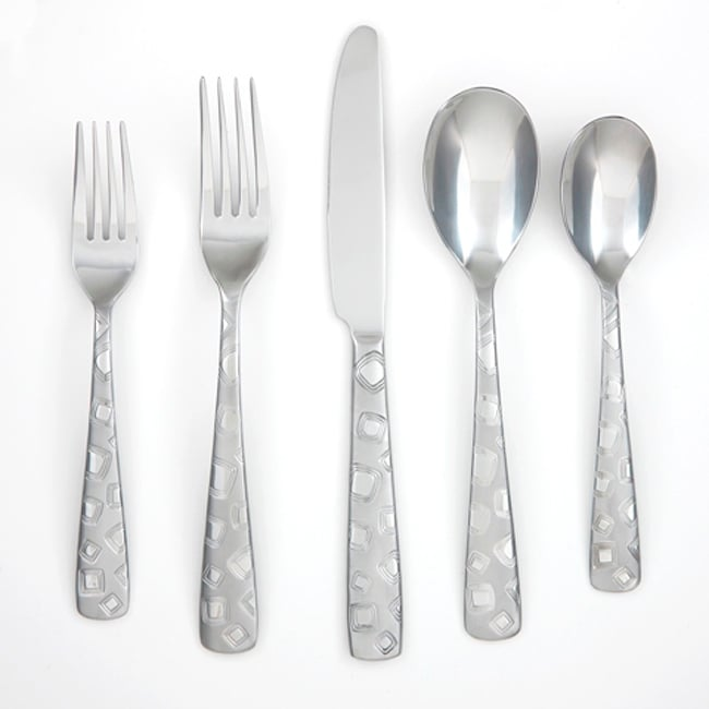 Cambridge Silversmiths Trina Frost 20-piece Flatware Set
