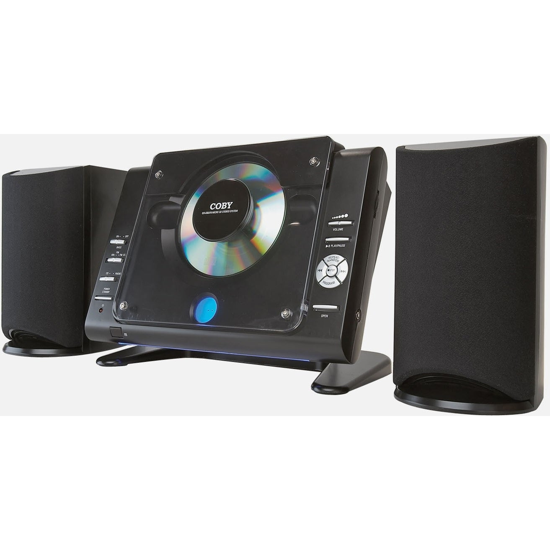 Coby CXCD380 Micro Hi-Fi System - 20 W RMS - Black