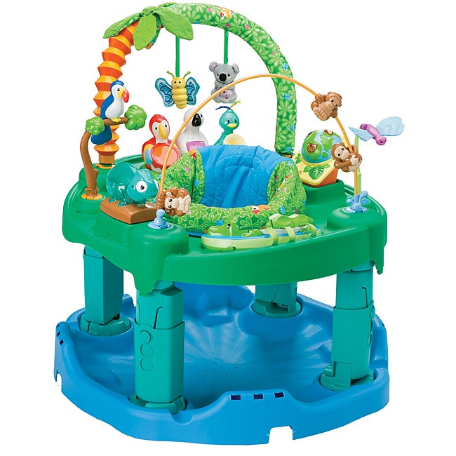 Evenflo ExerSaucer Triple Fun Jungle Active Learning Center