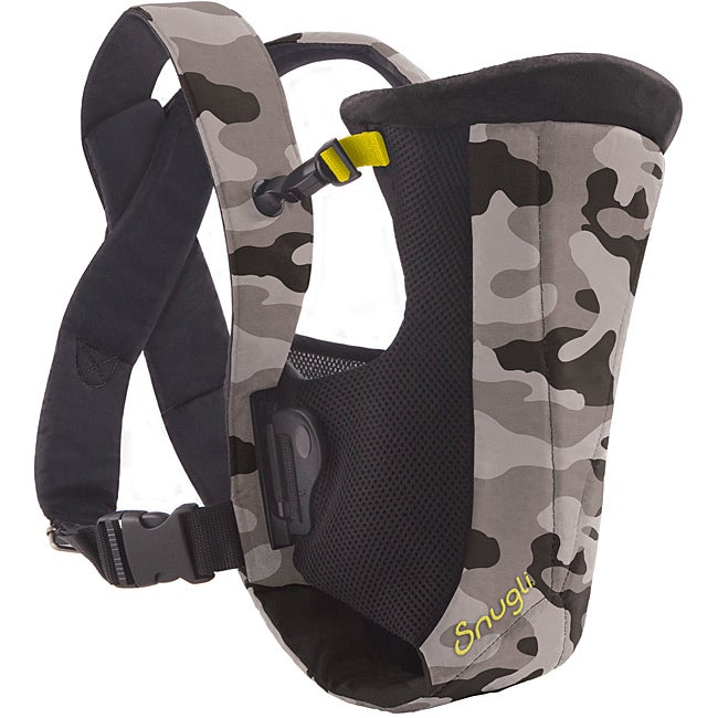 Evenflo Snugli Vented Carrier in Black Camo