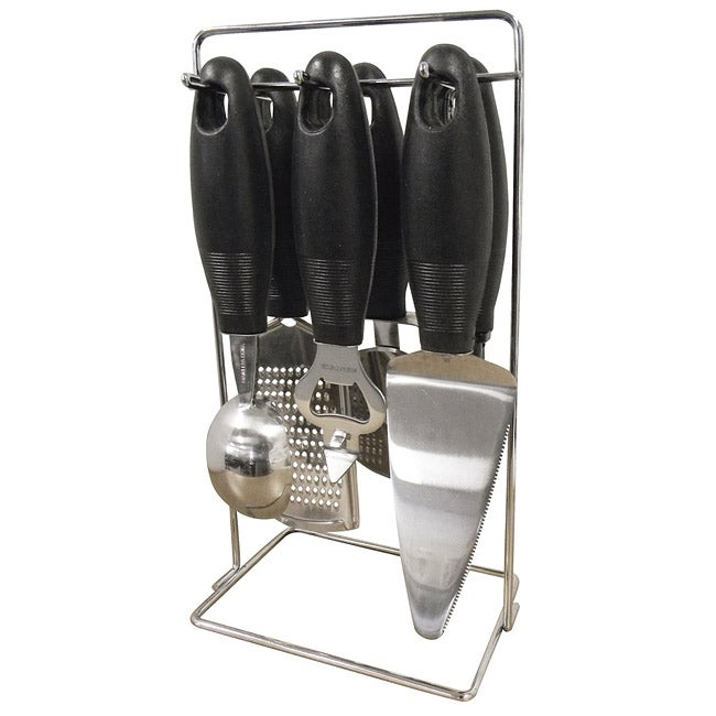 Kitchen 6-piece Gadget Set with Stand