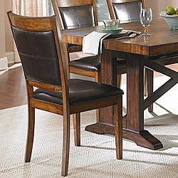 Farnham Warm Brown Side Chairs (Set of 2)