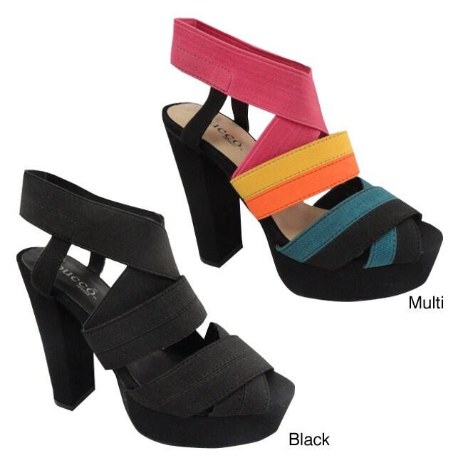Bucco Women's 'Cap' Platform Sandals