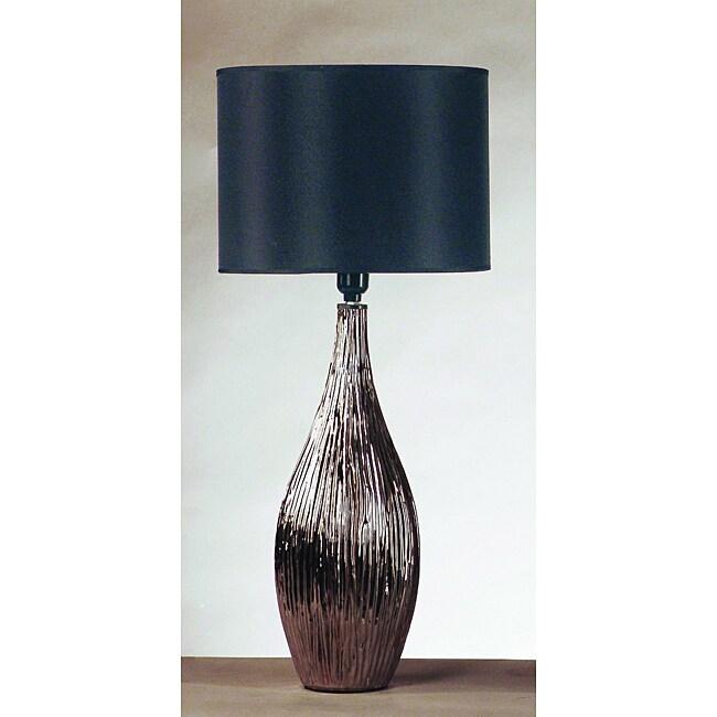 Chrome Vase Lamp (Set of 2)