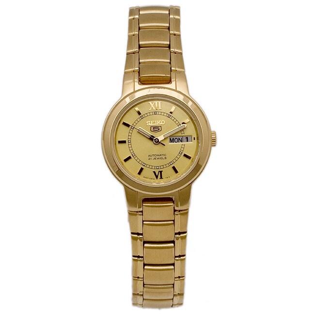 Seiko Women's Seiko 5 Stainless Steel Watch