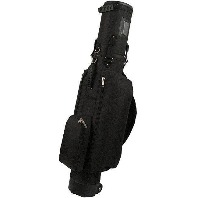 Co-Pilot Standard Edition Black Nylon Hybrid Golf Travel Bag