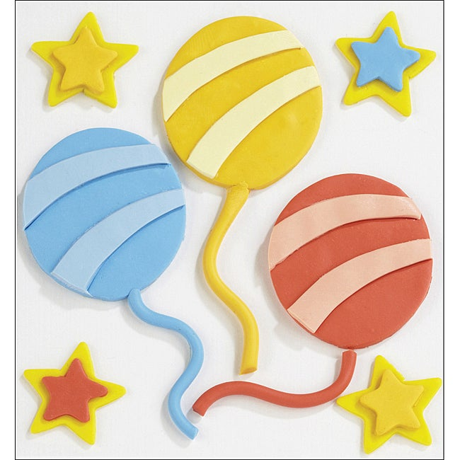 Jolee's Confections 'Balloon' Stickers