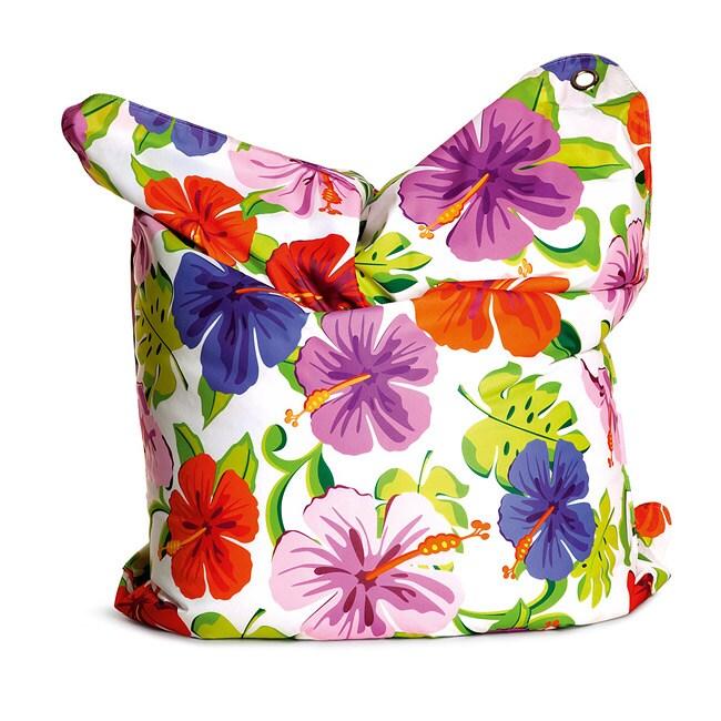 Sitting Bull Paradise Flower Fashion Bean Bag Chair