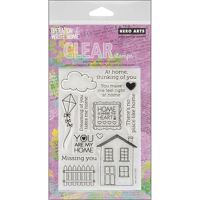 Hero Arts Right At Home Clear Stamps