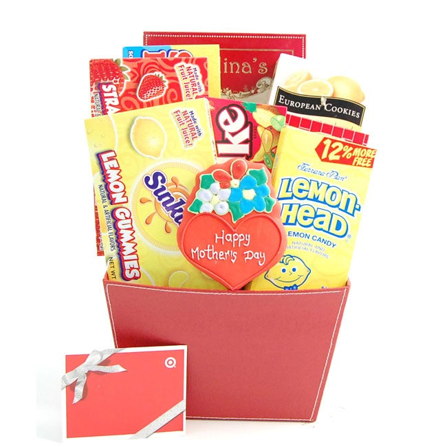 Mother's Day Goodies Gift Basket with $20 Gift Card