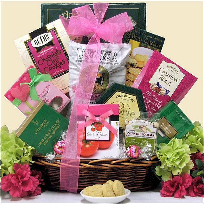 Indulge and Delight Gourmet Snacks and Sweets Gift Basket