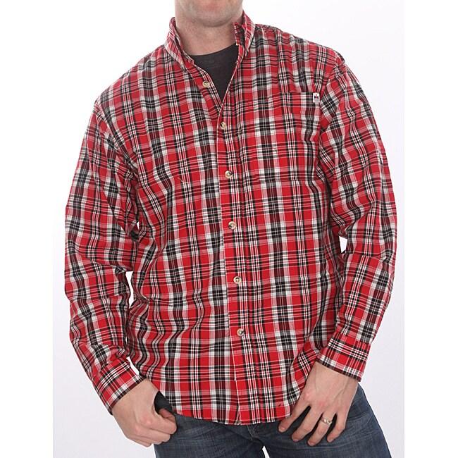 Farmall IH Men's Red Plaid Shirt