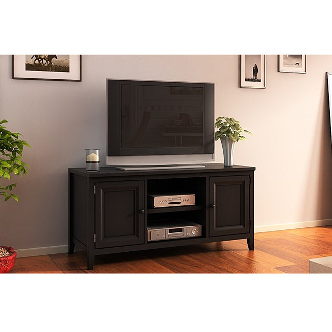 black 50 inch plasma tv lcd stand media console 14207075 shopping great. Black Bedroom Furniture Sets. Home Design Ideas