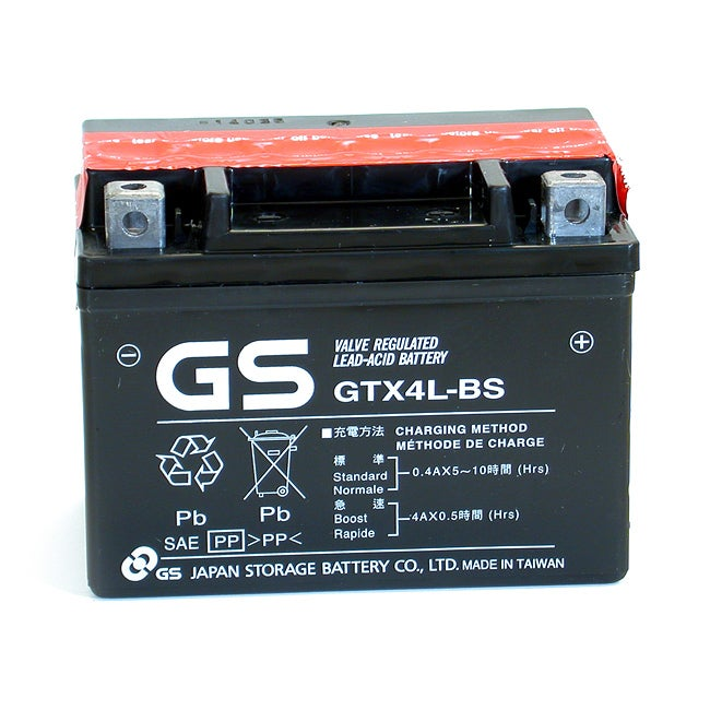 GS AGM GTX4L-BS Maintenance-free Sealed Battery